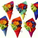 çiçek külahları