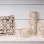 naturel yastık ve vazolar