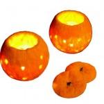 portakal keçe mumluk